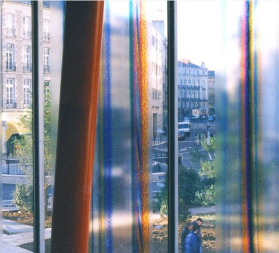 Habillage façade par impression sur verre