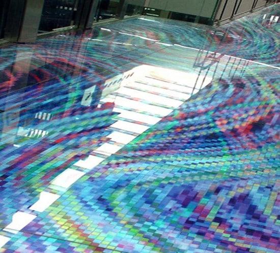 ingénierie graphique sur vitre