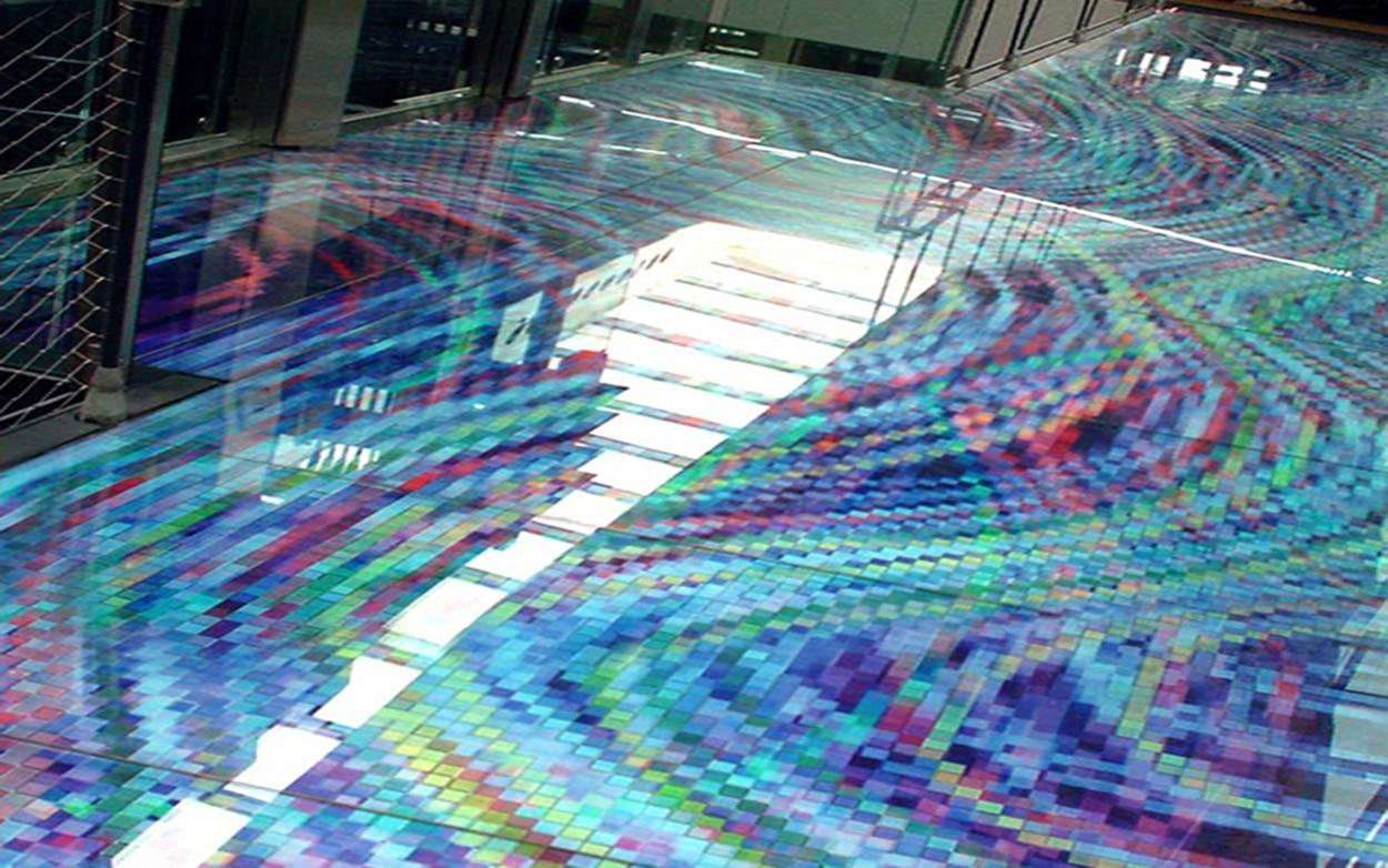 Banque Populaire Atlantique Graphic Glass Cladding
