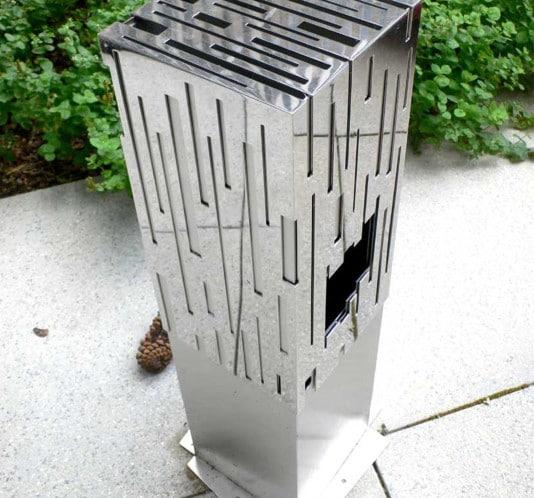 Design cendrier extérieur