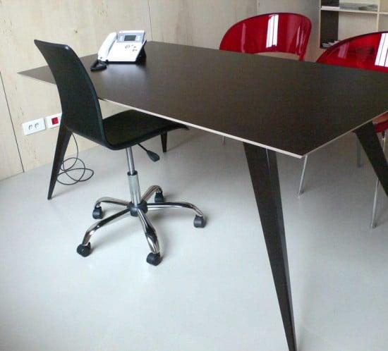 Fabrication TABLE PROUVÉ