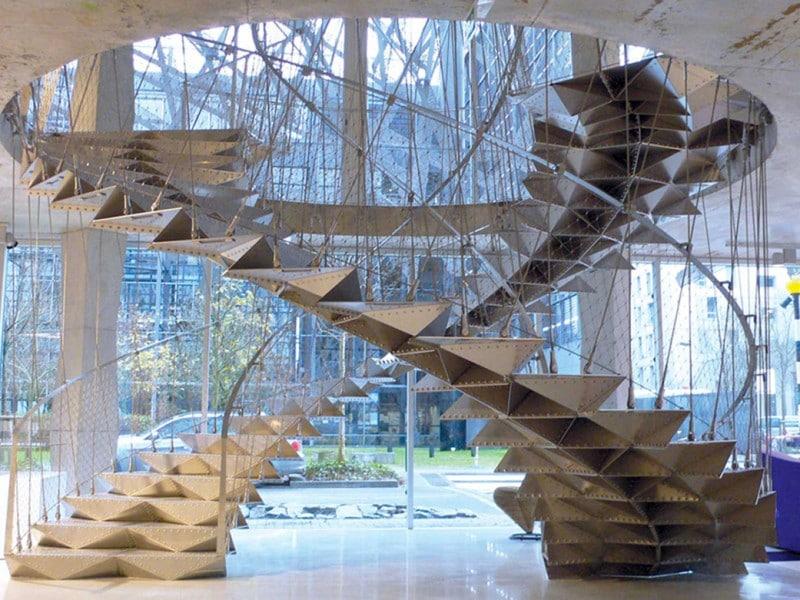 Création Escalier Hélicoidale