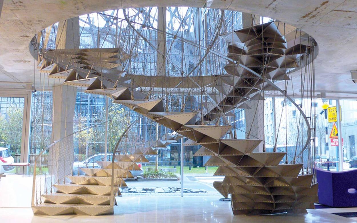 escalier helicoidal nantes