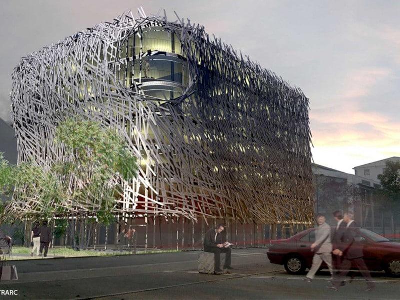 habillage façade aluminium