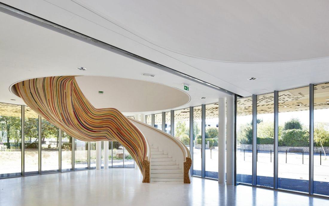 Habiller Escalier En Rotin - Métalobil Agence De Design À Nantes (44)