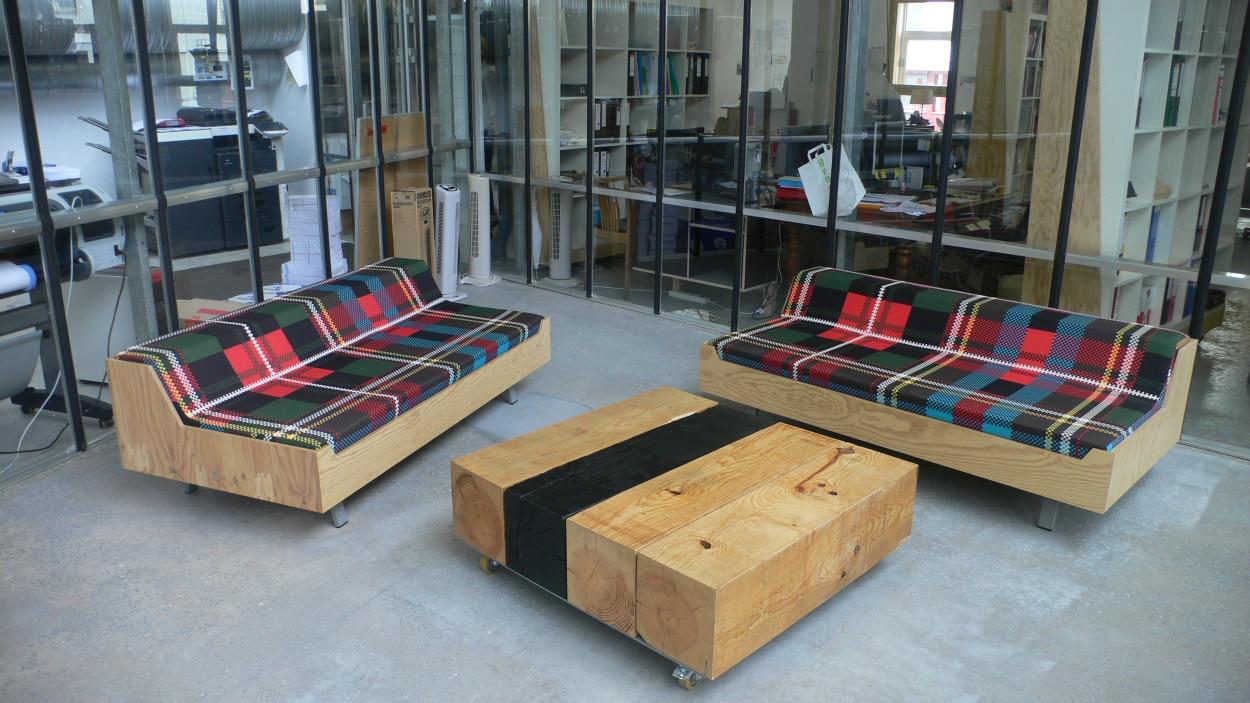 Ikea détournement : mobilier de bureau du van mÉtalobil agence de