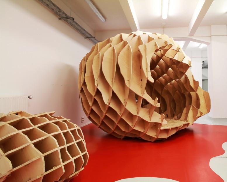 94 cocon monolithes vincent mauger m talobil for Mobilier japonais nantes