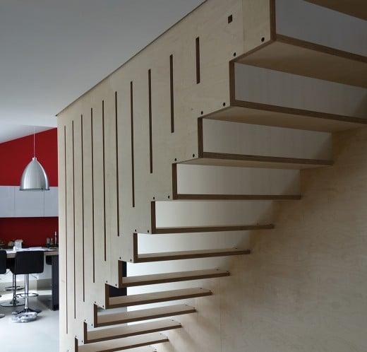 M talobil cr ation conception et fabrication d 39 objets uniques et hors - Creation escalier interieur ...