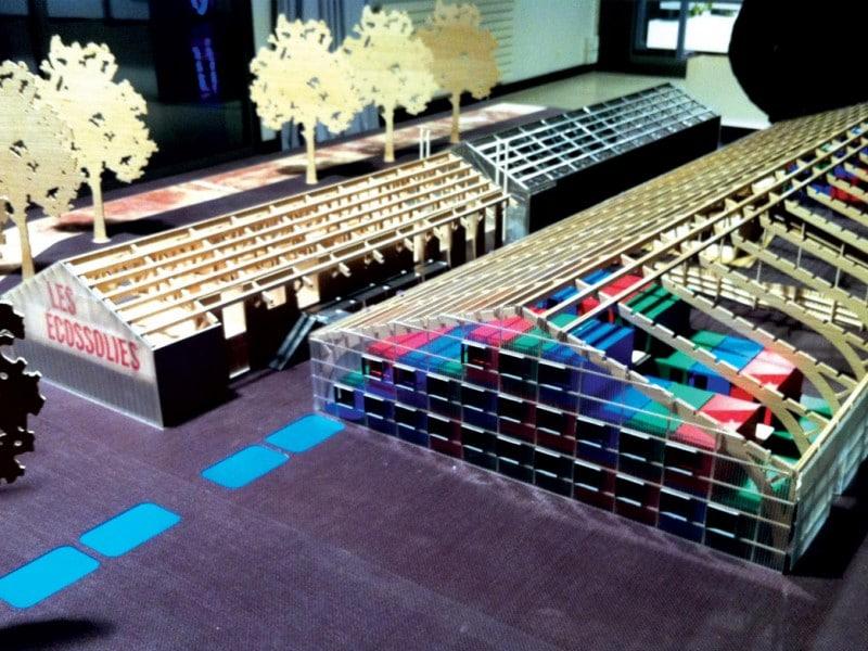 création maquette architecture