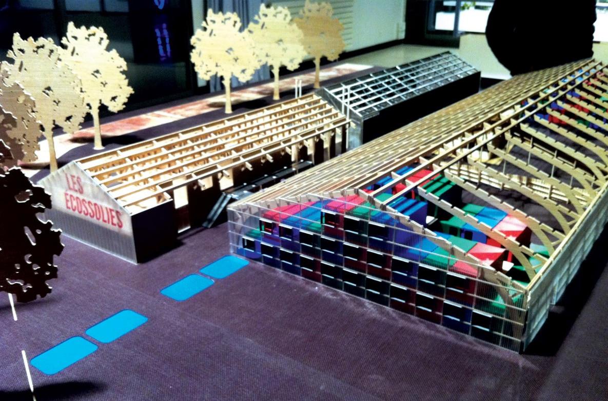 Cr ation maquette architecture ecossolies m talobil for Mobilier japonais nantes