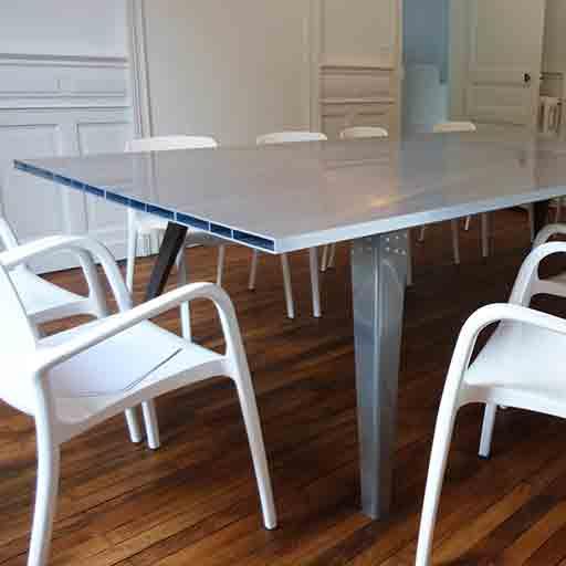 Table Charles Métalobil