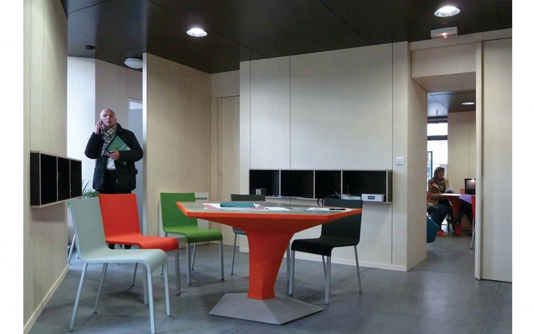 Agencement agence immobili re 4immo m talobil design for Agence immobiliere orange