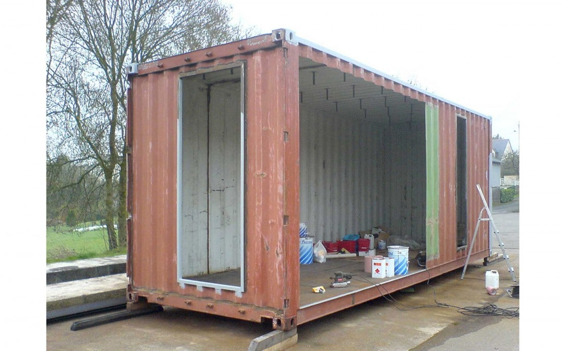 Extension container m talobil ing nierie design for Maison container 44