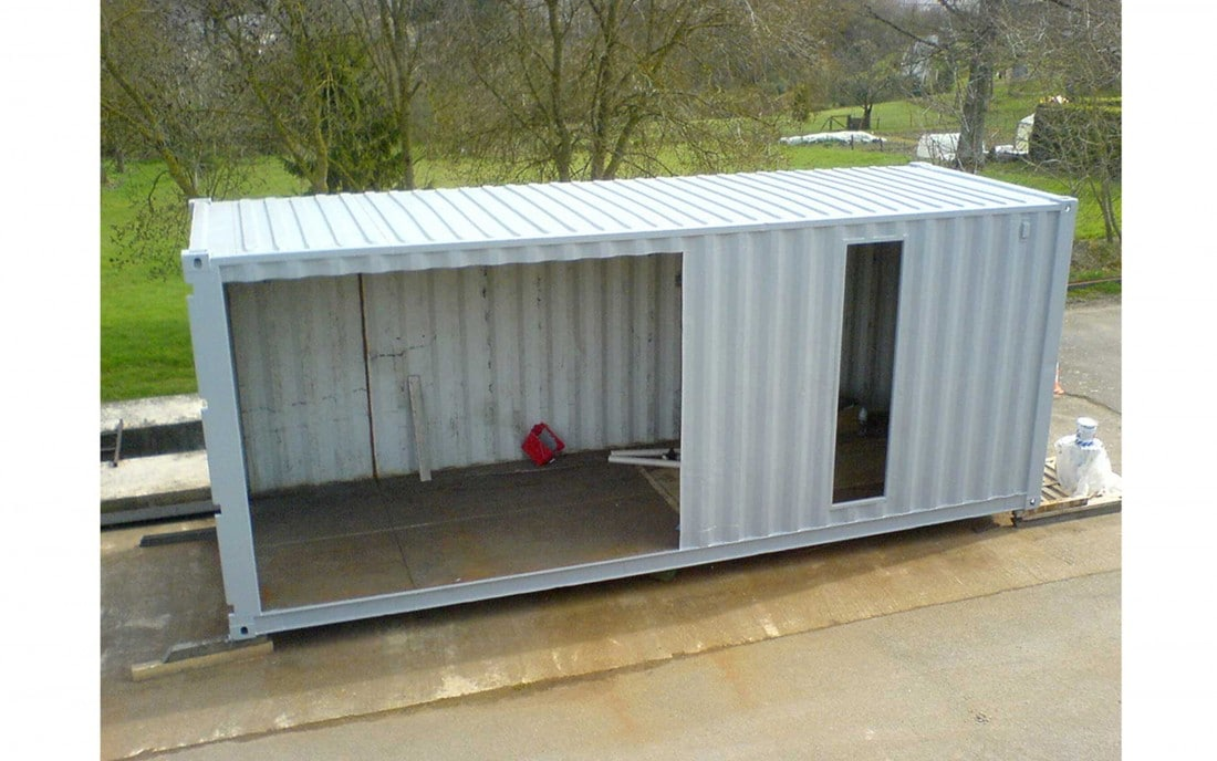 Maison container nantes 46 u2013 extension container for Maison container 01