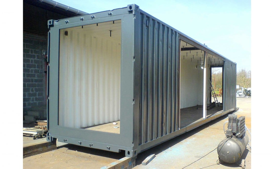 Extension container m talobil ing nierie design for Maison avec container maritime