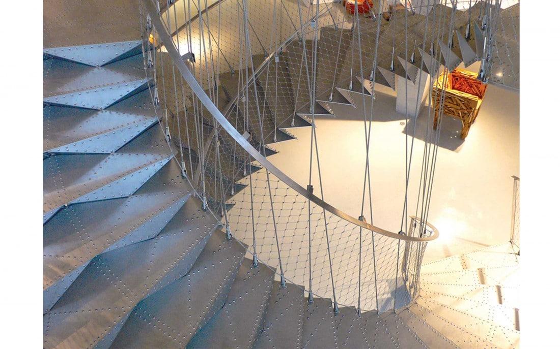 cr ation escalier h licoidale escalier origamique idm m talobil ing nierie design nantes 44. Black Bedroom Furniture Sets. Home Design Ideas