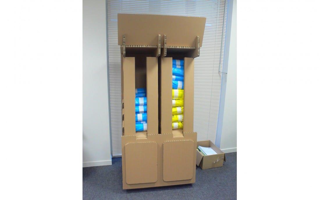 mobilier carton