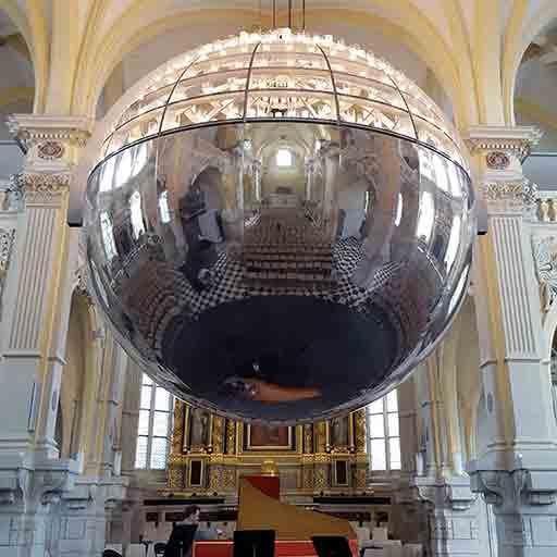 lustre monumental chapelle corneille