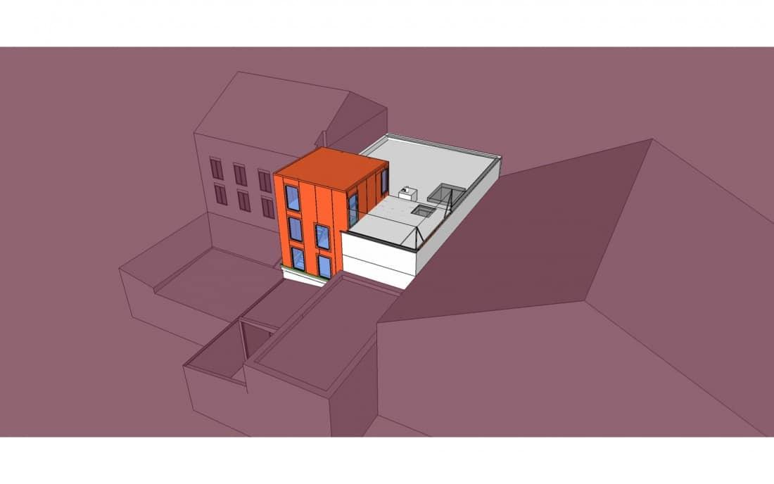 extension surélévation maison