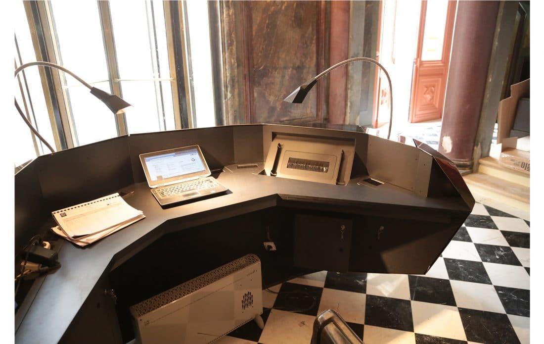 mobilier d'accueil design