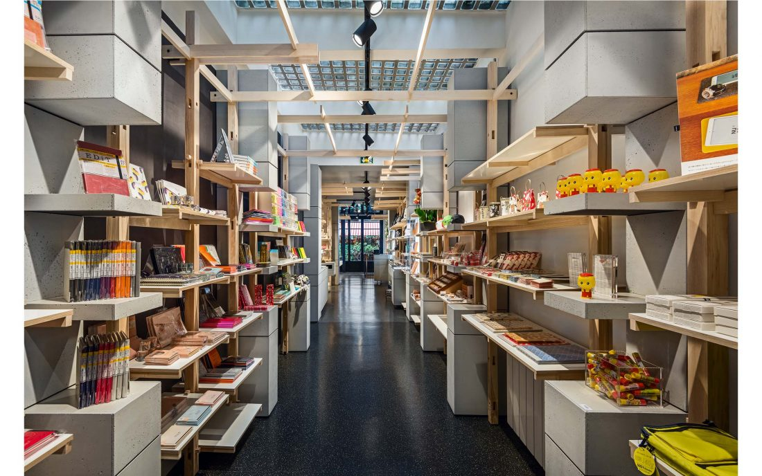 amenagement de concept store