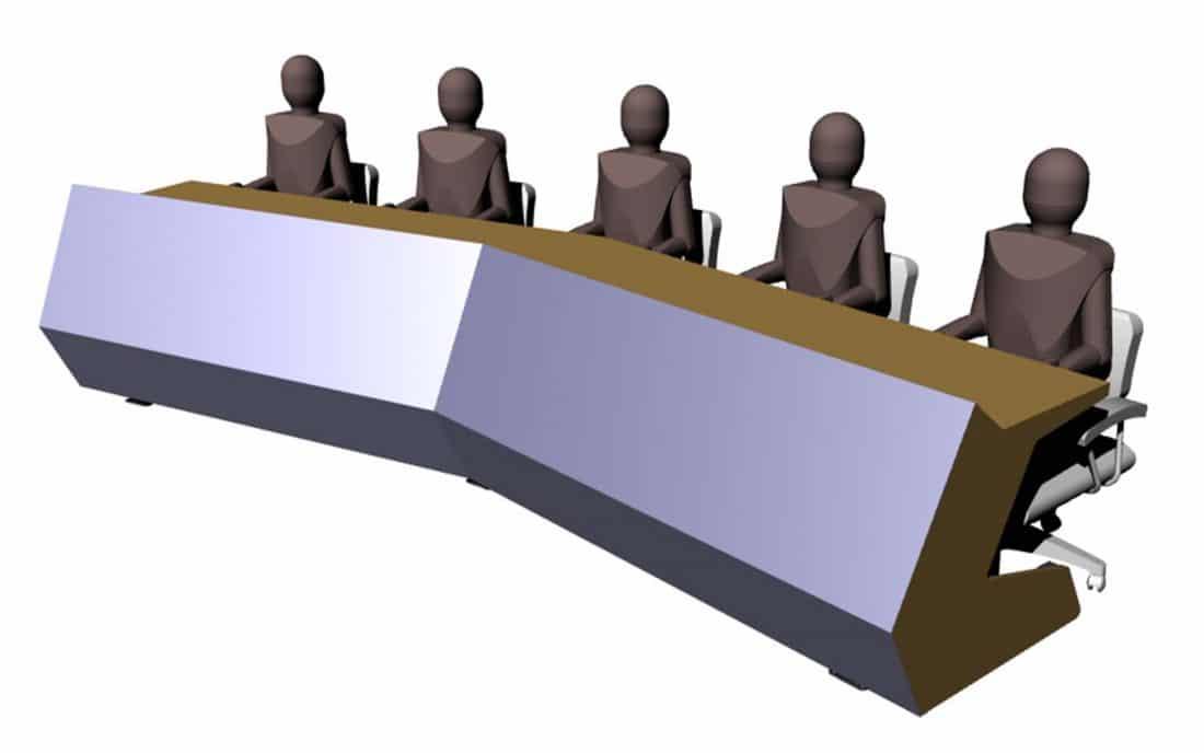 table de conférences