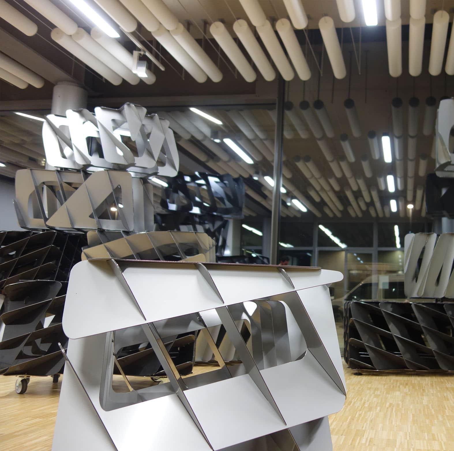 Production d 39 oeuvre d 39 art vincent mauger pour lille for Mobilier japonais nantes