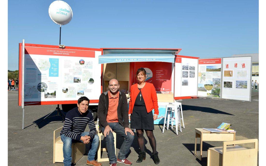 maison du projet mobile